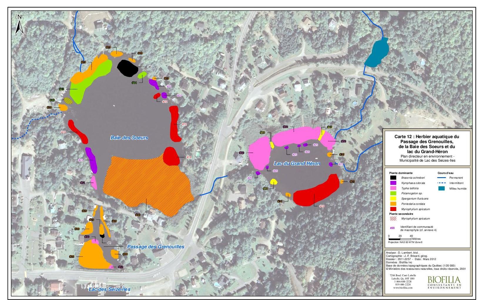 Préférence Invasive exotic species - Lac-des-Seize-Îles MV17