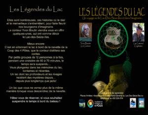 Affiche Les Légendes du Lac