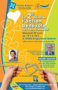 Le 2e Salon de l'action bénévole